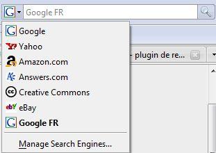 Google Search FR