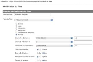 Referrers complets dans Google Analytics