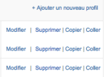 Copie de profil Google Analytics